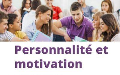 Des places disponibles pour la formation personnalité et motivation
